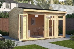 Garden room with path 3