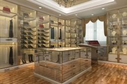 Shoe shop with shopfittings