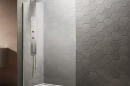 Wet room with walk in shower 2