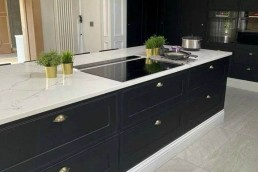 Fitted kitchen island