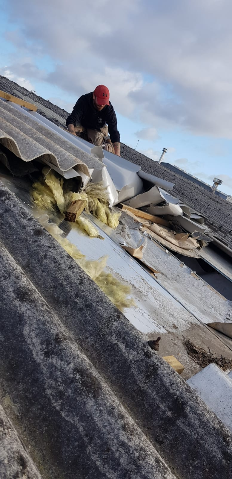roofing work in glasgow