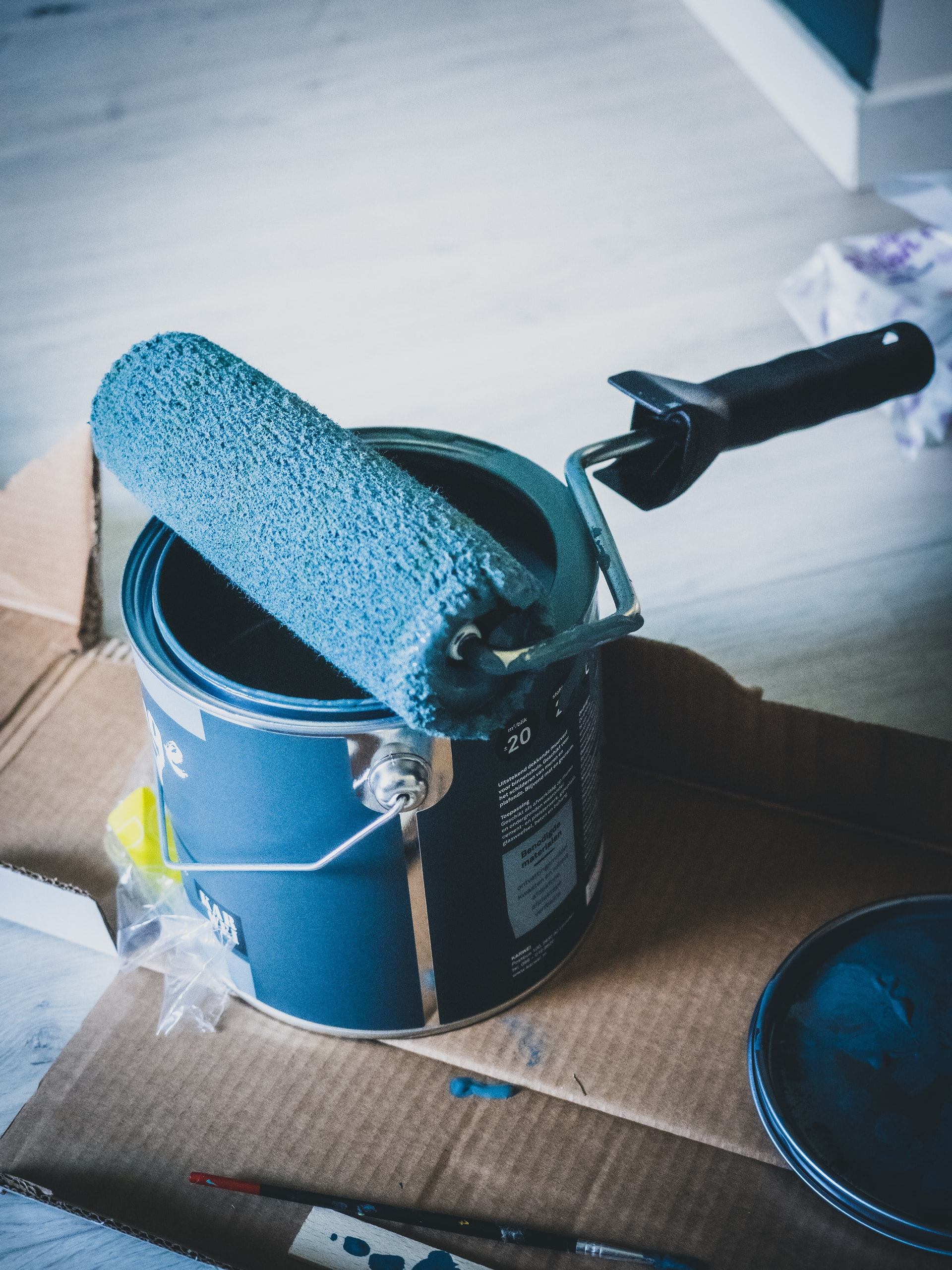 best way to paint a room